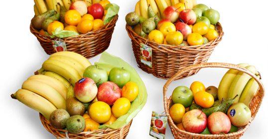 Våra fruktkorgar